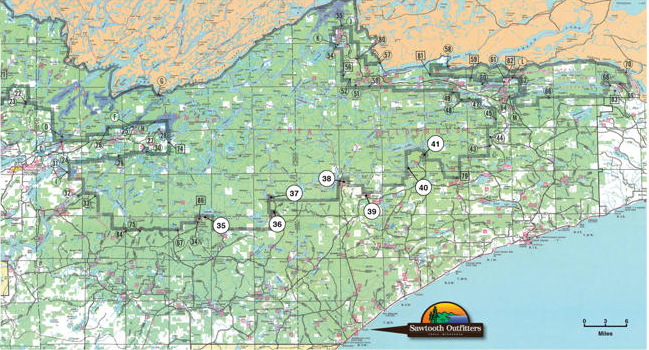 Primary entry points to BWCA