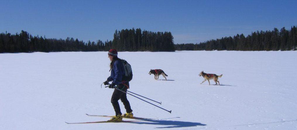 Crust Ski skate ski boundary waters northern minnesota