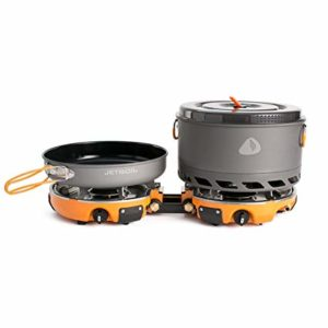 photo representation of the Jetboil Genesis Stove System