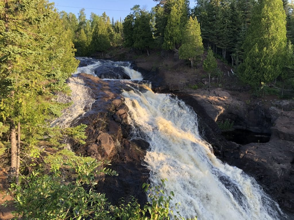 Cross River Falls - Schroeder, MN
