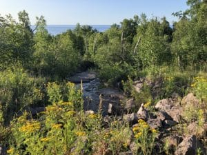 Gitchi-Gami State Trail - Lake Superior Views
