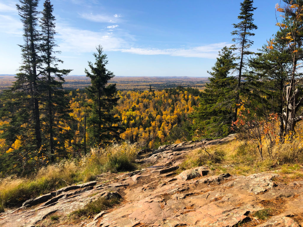 View from one of the Eagle Mountain overlooks