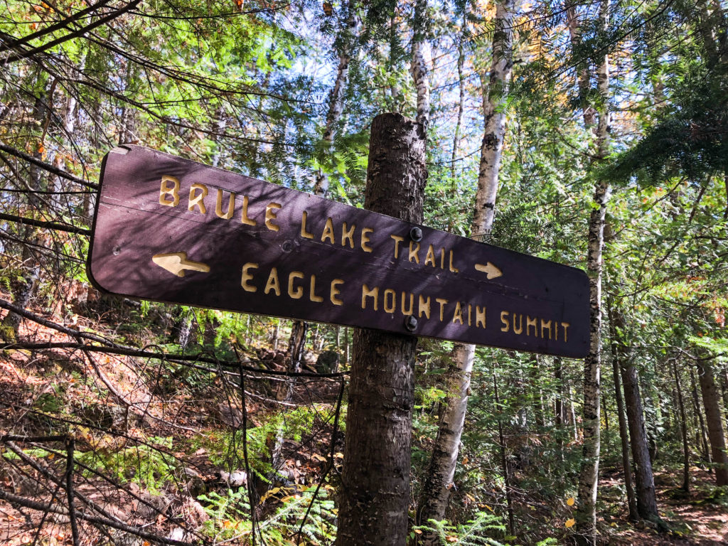 Sign to Eagle Mountain