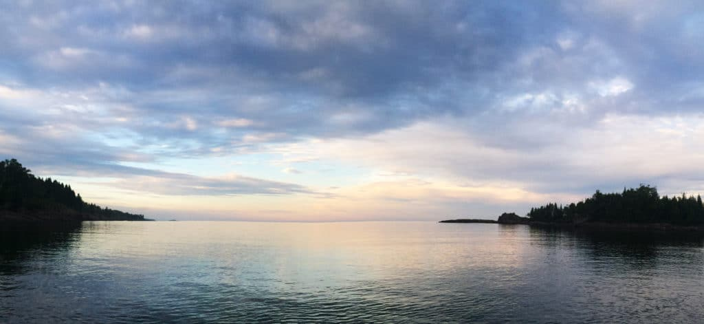 Sugarloaf Cove at Sunset