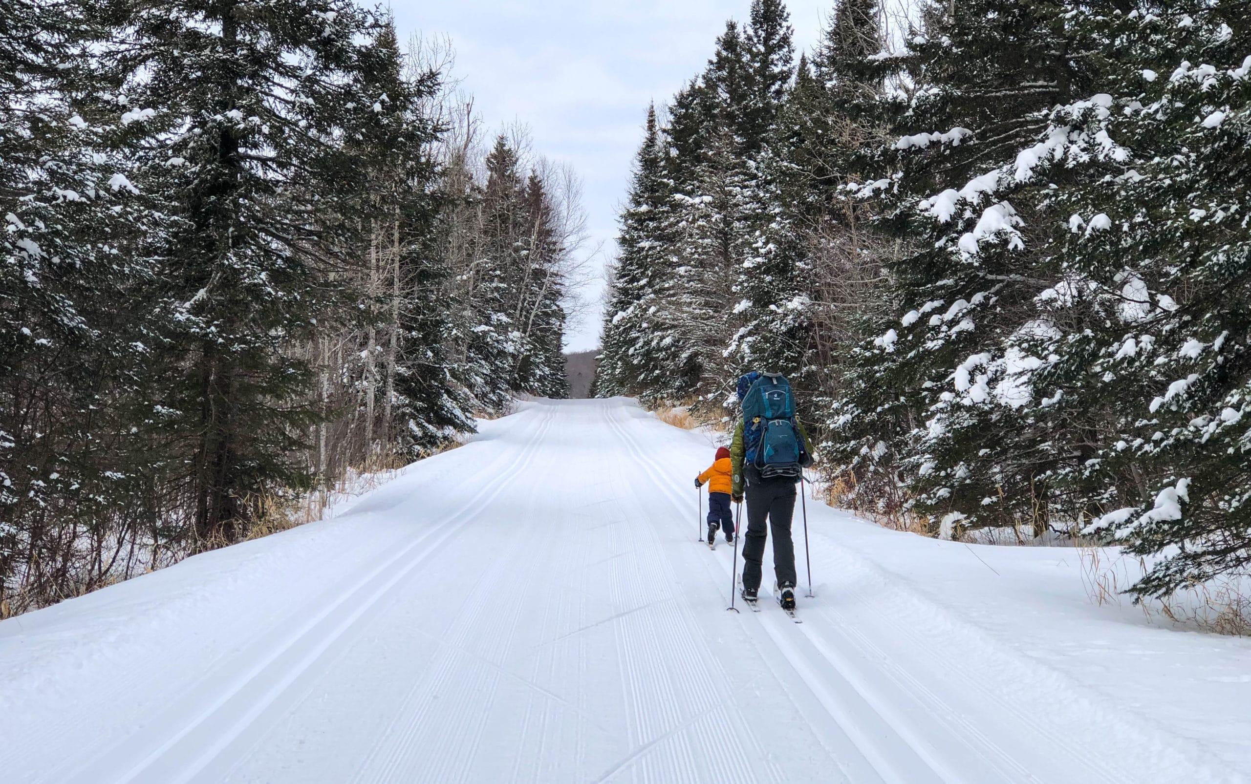 Cross Country Skiing near Lutsen Tofte MN